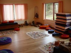 Meditation Space meditation room at the chopra center, located in the la costa