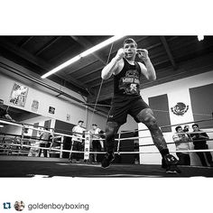 #Repost @goldenboyboxing ・・・ @canelo Great day of training! May 7th! #CaneloKhan double tap if you're #TeamCanelo