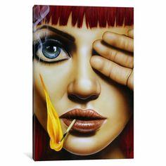 Art Beat, Pics Art, Art Pictures, Evvi Art, Digital Art Girl, Arte Pop, Art Graphique, Mixed Media Canvas, Oeuvre D'art