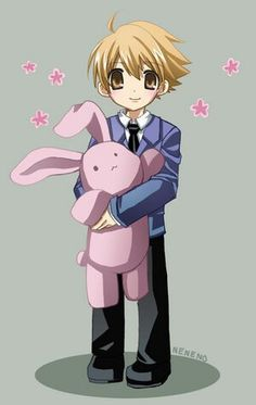 Honey is so adorable!!!<3 Ouran High School Host Club