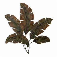 Woodland Imports 97920 Metal Palm Tree Wall Decor - ATG Stores