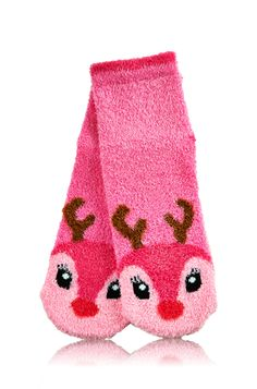 Reindeer Shea-Infused Lounge Socks - Bath & Body Works   - Bath & Body Works