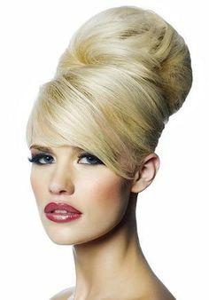 DIY Halloween Hair: DIY Halloween Hairstyles : Halloween Hair Fancy Big Bun