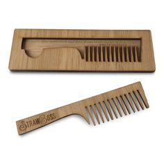 M O D E L : K E N N E T H Our Finest Beard Comb. The Straw Boss Comb Collective…
