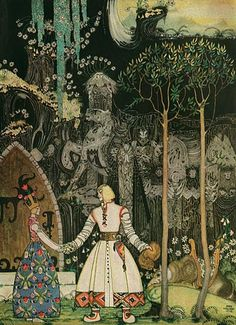 Illustration by Kay Nielsen- East of the Sun and West of the Moon (1914)