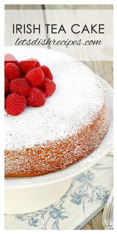 Irish Tea Cake Recipe