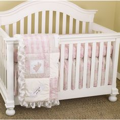 Cotton Tale Heaven Sent 7-piece Crib Bedding Set - Overstock™ Shopping - Big Discounts on Cotton Tale Bedding Sets