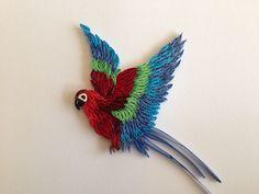 Quilled bird - by: Jeden Dwa