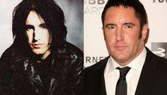 pop stars annees 90 avant apres trent reznor nine inch nails   Pop Stars années 90 avant après   vieillissement stars star photo image célébrité avant après