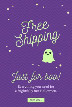 Personal Creations coupon deals - A Halloween Treat for You...FREE SHIPPING