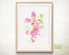 Piglet, Winnie The Pooh - Watercolor, Art Print, Home Wall decor, Watercolor Print, Disney Princess Poster