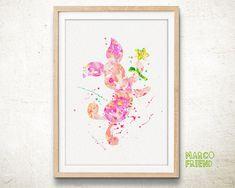 Piglet, Winnie The Pooh - Watercolor, Art Print, Home Wall decor, Watercolor Print, Disney Princess Poster