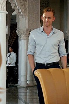 If looks could kill, Tom Hiddleston would be a f***ing serial killer.