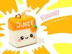 Kawaii Juice Box - Video Tutorial for Fimo Polymer Clay