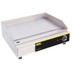Plancha eléctrica sobremesa 500 x 310mm. Buffalo
