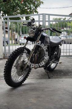 Honda CB 400 SS Brat Style Scrambler - CB400SS - Motorcycles for sale in Bandar Utama, Selangor