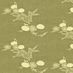 Woodland Hare - sage grass green