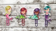 DIY Mermaid Paper Clips Process Video | Not2Shabby DT Project | (MFT)