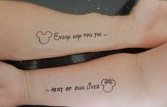 Married Couple Tattoo On Arms
