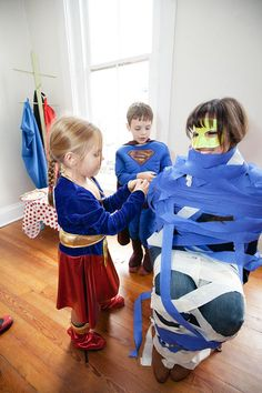Superhero Boy Superman Batman Spiderman Birthday Party Planning Ideascute game ideas