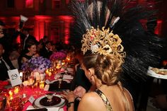 """Sarah Jessica Parker dines at the 2013 Met Gala, """"Punk: Chaos to Couture. Philip Treacy Hats, Party Pictures, Punk, Sarah Jessica Parker, High Society, Couture, Style And Grace, Fashion Pictures, World Of Fashion"""