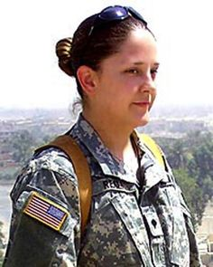 Reali killed ten years ago today (December when an improvised explosive device detonated near her Humvee in Baghdad. Please help me honor her so that she is not forgotten. Pride Of America, Courageous People, Remember The Fallen, Army Sergeant, Killed In Action, American Freedom, All Hero, Fallen Heroes, Female Soldier