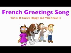 """Bonjour mes amis"" For learning: Hello. How's it going? Going well, Going…"