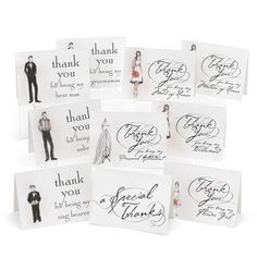 Hortense B. Hewitt Bridal Party Thank You Cards Wedding Accessories, Set of 30 – Wedding Ceremony Accessories: Wedding gift