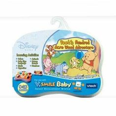 V.Smile Baby - Pooh's Hundred by Vtech Electronics. $24.79. V.Smile Baby - Pooh's Hundred Acre Wood Adventure Join everyone's favorite chubby little cubby and his gang as you step into the Hundred Acre Woods to learn colors, shapes, counting, nature sounds, opposites, jumping, clapping and bouncing. The Wi...