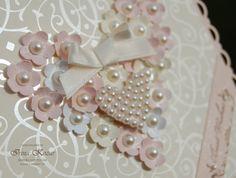Stampin' with Irina: Flower Heart Wedding Card