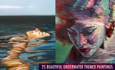 25 Best and Beautiful Underwater themed Paintings for your inspiration. Follow us www.pinterest.com/webneel