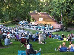 ashland oregon Lithia Park OMG,the ashland city band! Ashland City, Ashland Oregon, Summer Concerts, Shakespeare Festival, Parks And Recreation, Simple Pleasures, Classical Music, Summertime, Native American