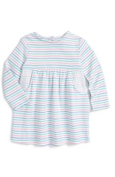 67396d98817 Tucker + Tate Stripe Long Sleeve Dress (Baby Girls) available at  Nordstrom  Nordstrom