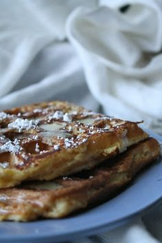 I was going to make waffles this weekend, but maybe now I should make them in advance!