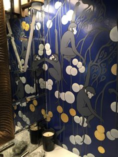 I just attended, as I do every year, the San Francisco Decorator Showcase (previously here and here ). De Gournay Wallpaper, Monkey Wallpaper, Hand Painted Wallpaper, Super Yachts, Chinoiserie, Art Nouveau, Interior Design, Interior Ideas, San Francisco