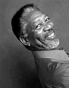 "Morgan Freeman, one of my favorite actors! Do you remember him in ""Driving Miss…"