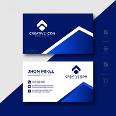 Company Business Cards, Business Cards Layout, Free Business Cards, Modern Business Cards, Professional Business Cards, Creative Business, Visiting Card Design, Name Card Design, Bussiness Card