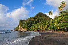 Black Sand Beaches - Martinique