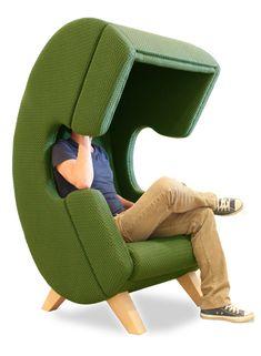 *전화기 형상의 의자 ruud van de wier shapes firstcall chair into phone for privacy Furniture Ads, Art Deco Furniture, Design Furniture, Unique Furniture, Shabby Chic Furniture, Cheap Furniture, Chair Design, Living Room Furniture, Street Furniture