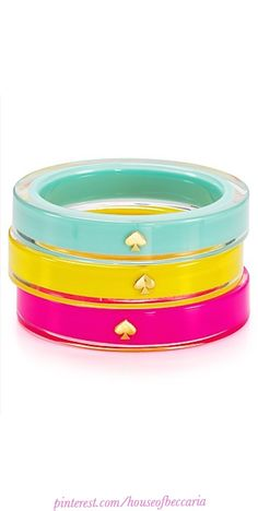 ~Kate Spade New York Lacquered Spade Bangle | The House of Beccaria