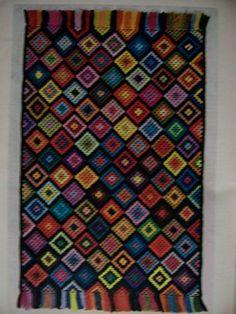 McCalls Vtg 70s Rug Making Patterns BK Needlepoint Woven Latch Punch | eBay