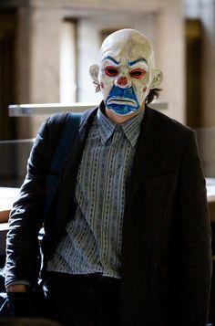 Joker bank robbery