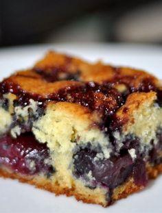Polish cherry cake