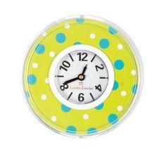 Locker Lookz Aqua and Lime Bubbles Clock - Decorate your locker with Locker Lookz accessories! My School Life, Make School, School Tips, School Ideas, High School, School School, Diy Locker, Locker Ideas, Locker Stuff