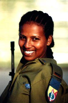 First Ethiopian Ordinance Officer in Israeli History.