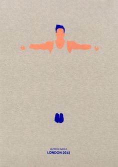 A Fish Out Of Water: Minimalist Olympic posters