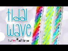 NEW Tidal Wave Rainbow Loom Bracelet Tutorial   How To   Rainbow Loom Fans