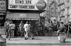 The corner of St. Marks Place and Second Avenue in the East Village in March 1969. Courtesy NYTimes Arts Beat