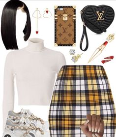 Baddie Outfits Casual, Swag Outfits For Girls, Teenage Girl Outfits, Cute Swag Outfits, Cute Comfy Outfits, Girls Fashion Clothes, Teen Fashion Outfits, Girly Outfits, Look Fashion