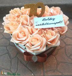 'Szeretet és hála' szív box (EraberaPorteka) - Meska.hu Diy, Bricolage, Do It Yourself, Homemade, Diys, Crafting